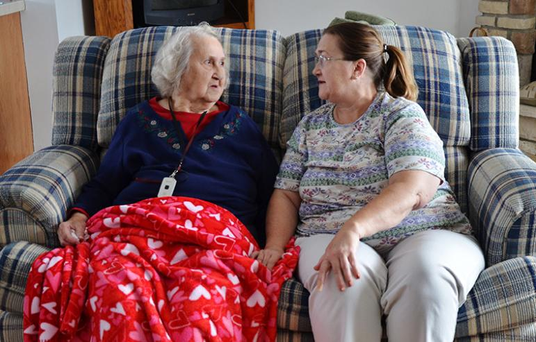 Alice & Edra's Story - Caregiver Homes' Support of Family Member with Dementia